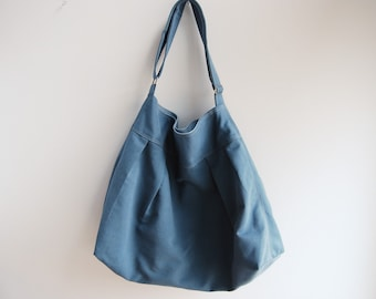 The Market Bag in Provincial Blue