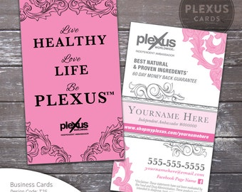 Plexus Pink Business Card Design [DIGITAL FILES]