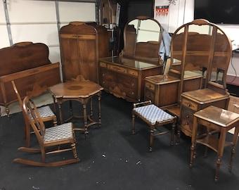art deco bedroom furniture. art deco furniture 1920s  Nine Piece Solid Walnut Art Deco Bedroom Furniture Set H Desk Ambrose Heal Victoria And Albert
