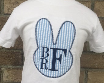 Personalized Bunny Monogram Shirt