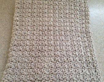 Crocheted Baby Afghan / Stroller Blanket / Lap Afghan