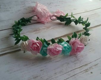 Newborn to adult flower crown. Photoprop