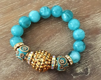 Stretch Bead Bracelet – Large Bead Bracelet, Our Top Selling Bracelet for Spring 2018