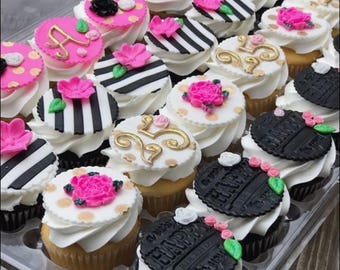 LOCAL ONLY, Kate Spade Insired Cupcakes