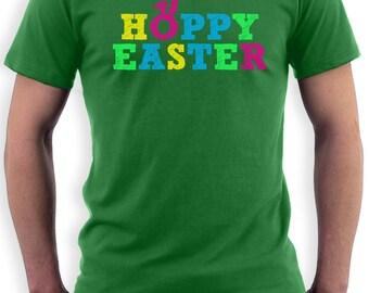 Hoppy Easter Men's Short Sleeve T-Shirt