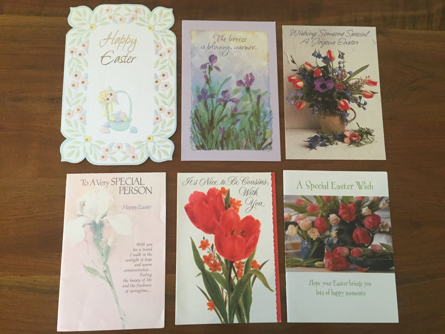 18 vintage easter cards used greeting cards from the 1970s 400 kristyandbryce Choice Image
