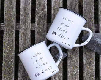 Parents of the bride gift father of the bride mother of the bride wedding gift parents wedding gift parents of the groom thank you gift mugs