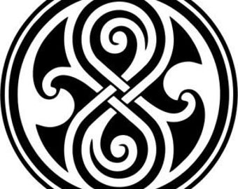 Seal of Gallifrey decal sticker Doctor Who