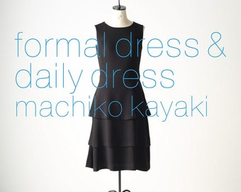Formal Dress and Daily Dress by Machiko Kayaki Japanese Sewing book patterns