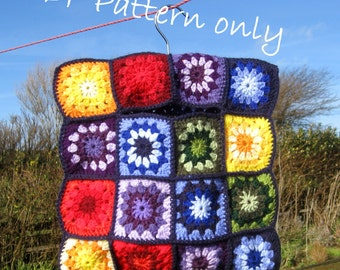 Vintage style crochet clothes peg bag. PDF instant download. Photo tutorial.  Own design. Permission to sell items made from this pattern.