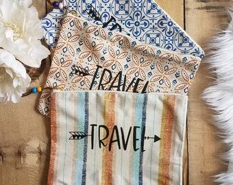 Grow and Co cosmetic bag. Travel bag.
