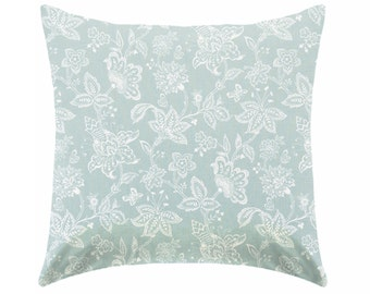 Pillow covers, blue pillows , pale blue and white pillows , light blue cushions , nautical pillow covers , coastal pillows