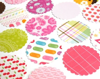 The Sweet - DCWV Scalloped Round Die Cuts