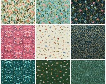Rifle Paper Amalfi - Fabric Bundle - Cotton + Steel - Anna Bond - Fat Quarter, Half Yard, One Yard Bundle - Quilting Cotton