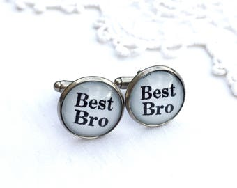 Best Bro Cufflinks