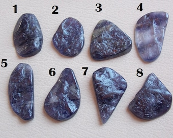 1. Piece Very Rare Iolite Natural Druzy Rough Cabochon Finest AAA Quality Wholesale Price 100% Natural New Arrival