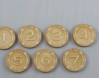 Objective Tokens (Kings of War Compatible)