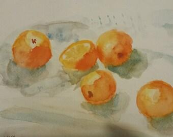 Summer oranges