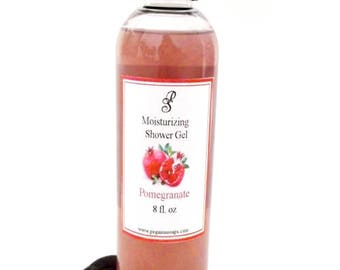 Pomegranate Moisturizing Shower Gel 8 oz ~Bath Care~Shower~Skin Care~
