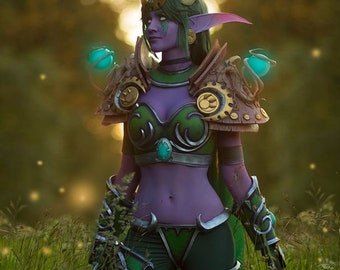 World of Warcraft Ysera cosplay