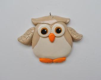 Personalized  Owl Christmas Ornament/Owl/Children's ornament/Bird