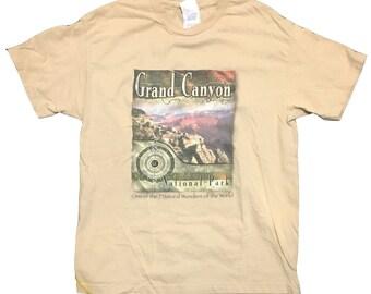Vintage Grand Canyon Shirt Grand Canyon tee vacation shirt 90's 80's fashion Arizona shirt Size large