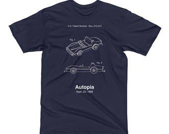 Autopia Patent T-Shirt from Disneyland's Tomorrowland - A Retrocot Original