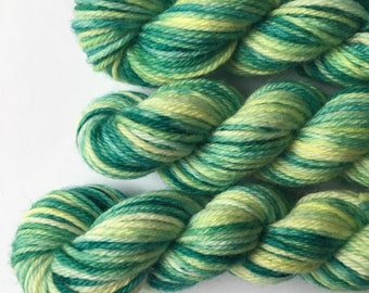 "Deluxe sock yarn 1 x 10 g mini skein ""Taiga"""