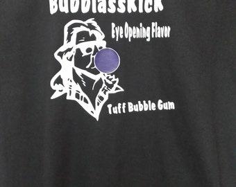 They Live Rowdy Roddy Piper BUBBLASSKICK Bubble Gum Movie NovelTee Shirt