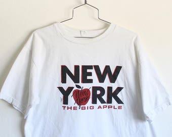 XLARGE Vintage 1988 NEW YORK The Big Apple T-Shirt