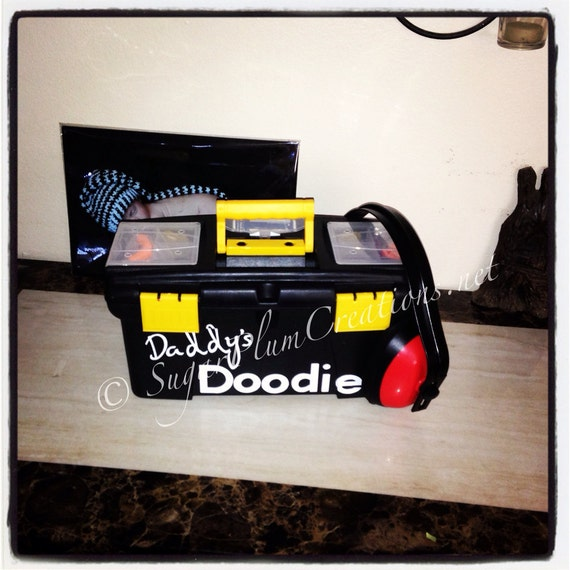 The Original Daddy S Doodie Toolbox Baby Shower Gift Just