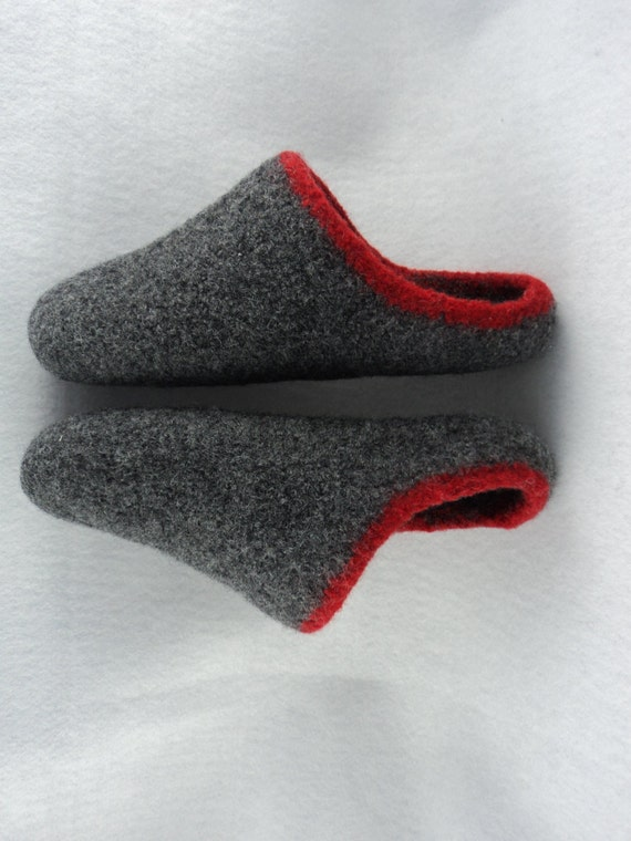 Pdf Mens Scuff Slippers Felted Wool Knitting Pattern From Moniquerae