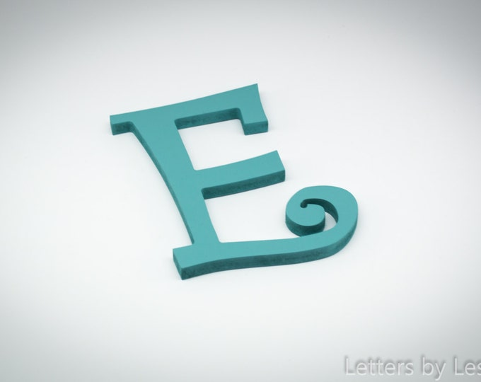 Handpainted Wooden Wall Letters, Wooden Wall Initials. Hanging Wall Letters. Wooden Letters