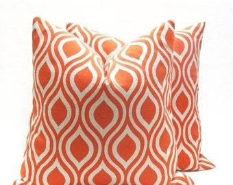 15% Off Sale Oragne Pillow,Decorative Pillows Cover, Pillow covers - Tan Pillow - Pillow Sham - Orange pillow Cover - Cushion Covers - Linen