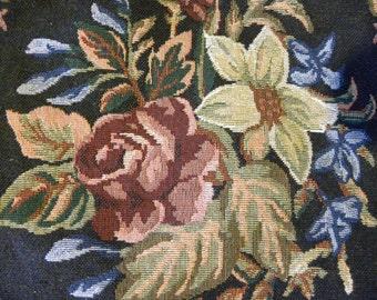 Tote Bag, School Book Bag, Grocery Tote Bag, Tapestry Tote Bag, Vintage Tapestry, New Never Used