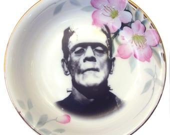 """Frankenstein Portrait Bowl  5.4"""""""