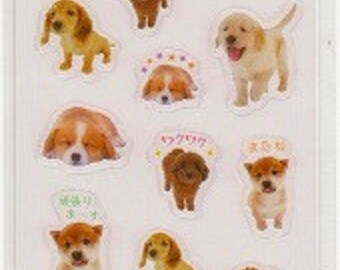 Dog Stickers - Puppy Stickers - Reference Y3289