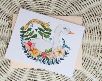 Mother's Day Goose Notecard