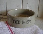 Vintage Dog Bowl - Vintag...