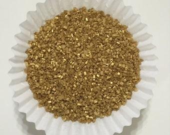 4oz. Gold Sparkling Sugar. Sparkling Sugar. Sprinkles.Cupcake Decorating. Cake Pop Decorating. Cookie Decorating. Ice Cream Sprinkles.