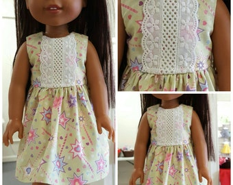 Lace and Majestic Dress for Wellie Wishers Dolls