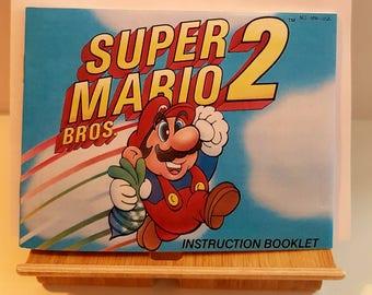 NES Super Mario Bros 2 -  Replacement Manual