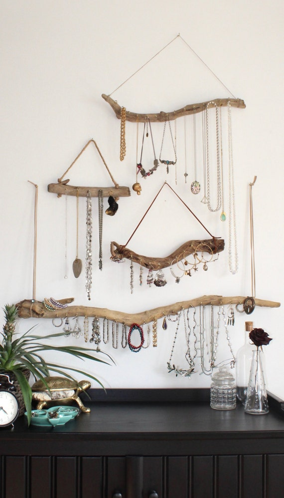 Driftwood Jewelry Organizer Made to Order Custom Jewelry