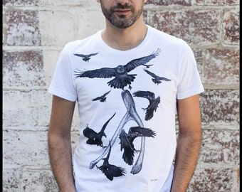 """T - Shirt man """"The crows"""""""