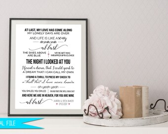 Chalkboard posters invitations home decor by digitalartdesignsbyb wedding song gift first dance sign personalized anniversary gift personalized wedding gift stopboris Choice Image