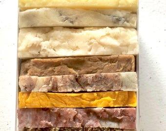 Soap Ends | Mini Soaps Sampler | Trial Size Soaps | Variety Soap Packs | Guest Soap | Travel Size Soap | Bulk Soap Bars | Bulk Natural Soap