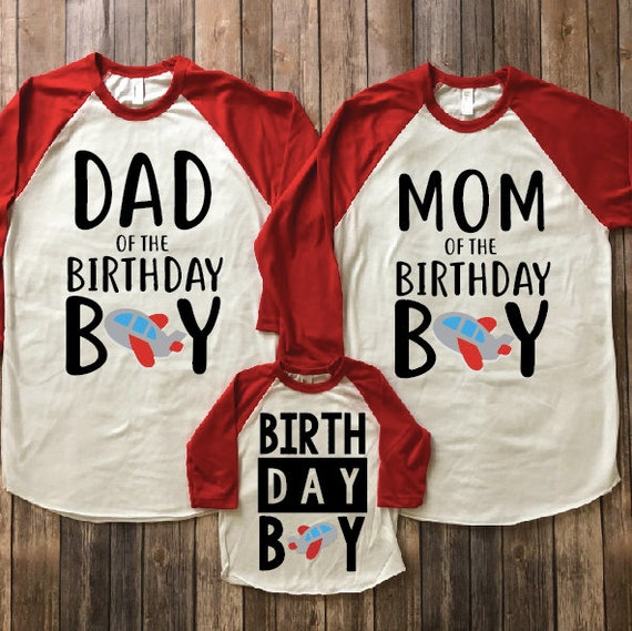 Birthday Shirts Dad Shirt Of Mom Boy Parents Matching First Family