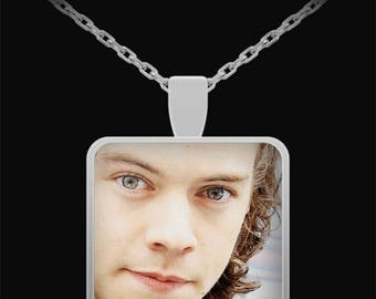 ONE DIRECTION Harry Square Pendant Necklace