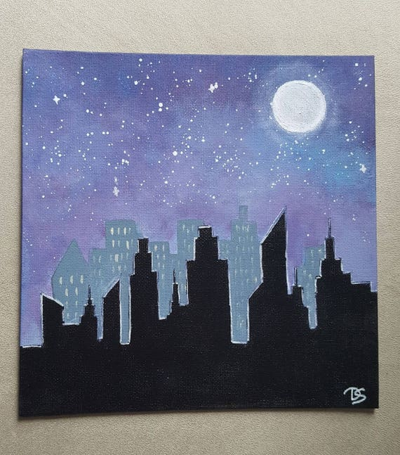 Canvas 'Empire State of Mind'