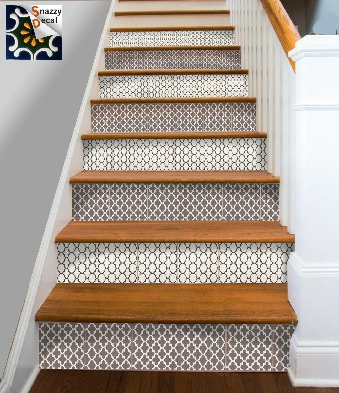 kitchen bathroom wall stair riser tile decals vinyl sticker. Black Bedroom Furniture Sets. Home Design Ideas